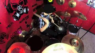 Five Finger Punch Wrong Side Heaven Drum Cover Austin Rios
