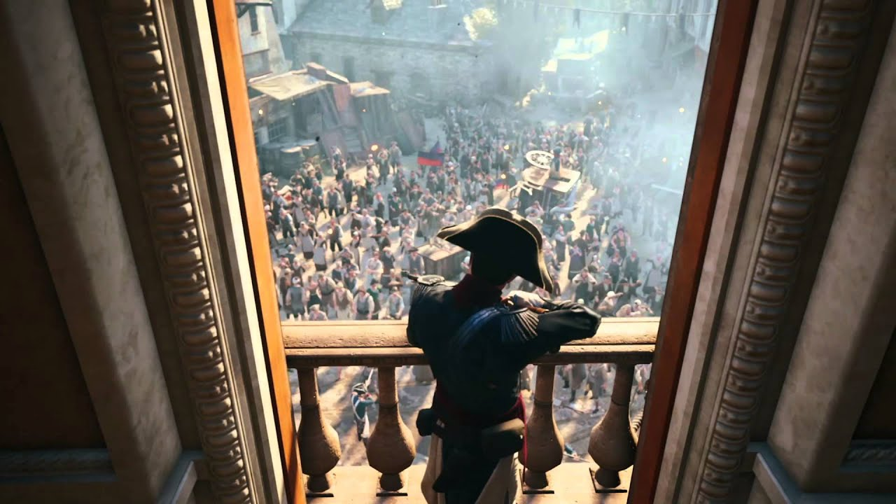 Assassins Creed Unity Hd Wallpaper Assassin S Creed Unity Revolution Gameplay Trailer North