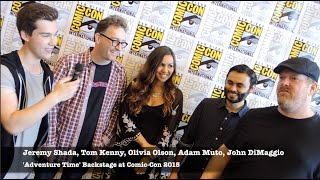Adventure Time Backstage at 2015 Comic-Con