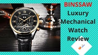 Luxury Mechanical Watch Unboxing & Review | AliExpress