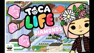 FINDING THE DIAMONDS + MORE SECRETS - TOCA LIFE OFFICE - TOCA BOCA