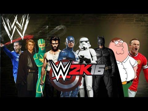 WWE 2K16-Created Superstars 30-Men Royal Rumble