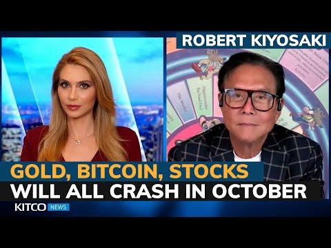 Robert Kiyosaki: 'The biggest crash in world history' hits this October
