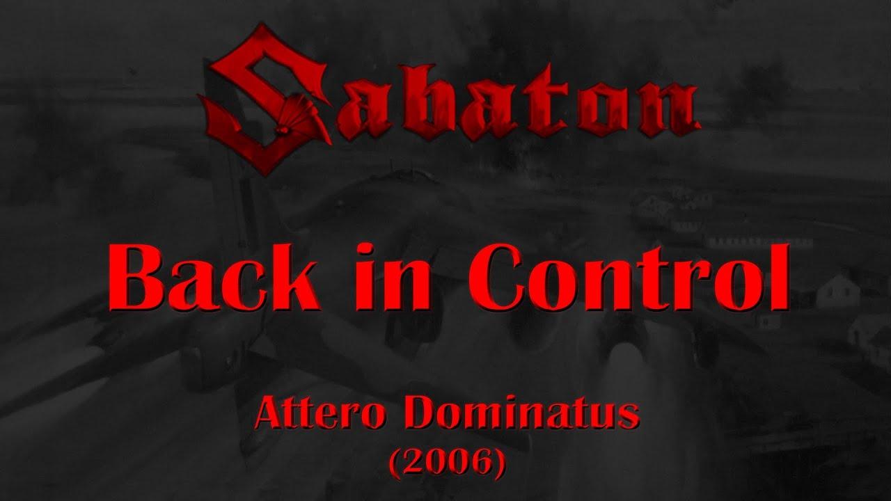 sabaton back in control lyrics english deutsch youtube. Black Bedroom Furniture Sets. Home Design Ideas