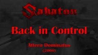 Sabaton Back In Control Lyrics English Deutsch