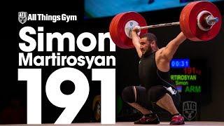 Simon Martirosyan 191kg Snatch 2017 Junior World Championships
