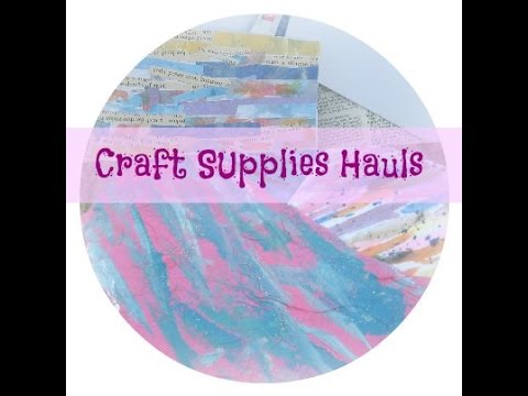Craft supplies haul from micheals yard sale target and for Clearance craft supplies sale