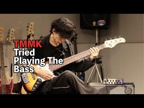 TMMK Tried Playing the Bass(TTPB)シリーズ1回目!!!TMMKさんと静岡パルコ店コラボ企画です。