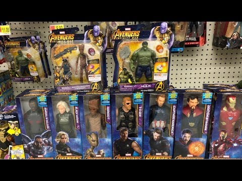 Avengers Infinity War 6 Hero Vision Figures W Gems New 12 Titan