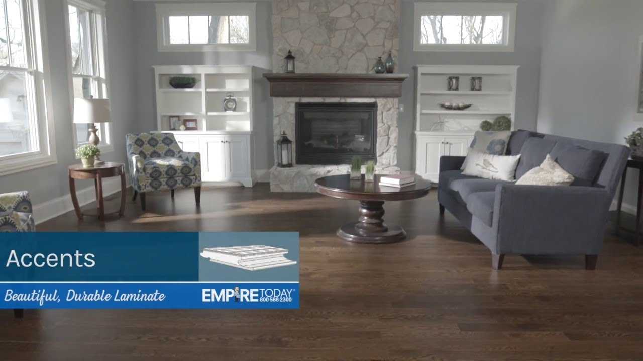 Durable Laminate Flooring Accents From Empire Today