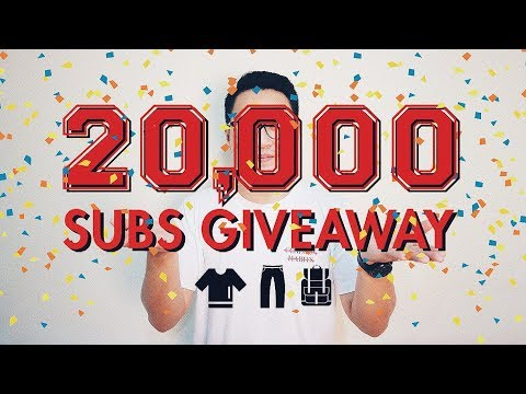 20K SUBS GIVEAWAY!! Bahasa Indonesia