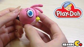 How To Make Angry Birds Stella - Playdoh Angry Birds Stella