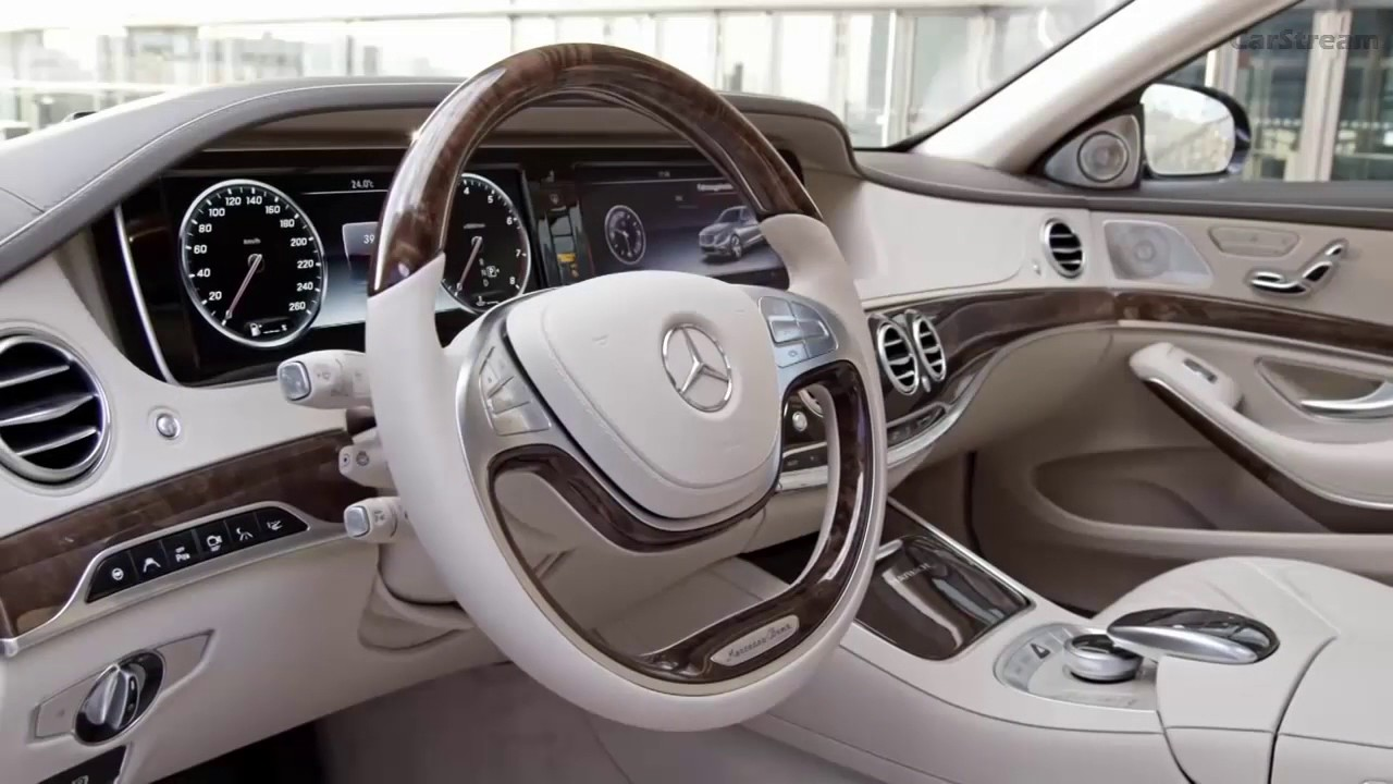 Mercedes Maybach S600 2017 Interior Youtube