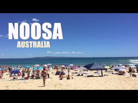 AUSTRALIA (2016): Noosa Main Beach & Hastings Street