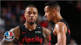 Scottie Pippen heads West to catch up with Damian Lillard and CJ McCollum, the dynamic backcourt of the Portland Trail Blazers. They shoot some threes and ...