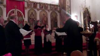 Nativity Troparion By Pan-Orthodox Choir At Sts. Peter And Paul Orthodox Church, Buffalo NY