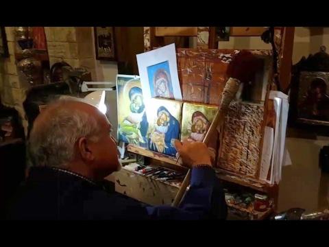 Η τέχνη της αγιογραφίας από το Νίκο Τζιρή