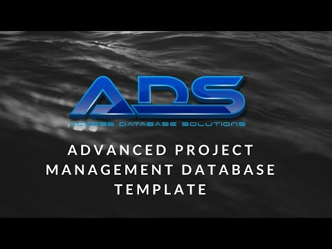 Advanced Project Management Database Template