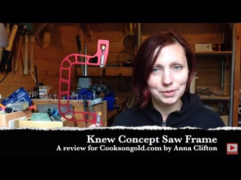 "Cooksongold Knew Concept 3"" Saw Frame Review by Anna Clifton"