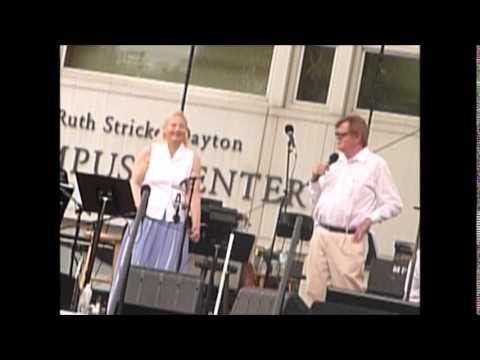 Garrison Keilor and Prudence Johnson with a riff by Rich Dworsky-7/4/14