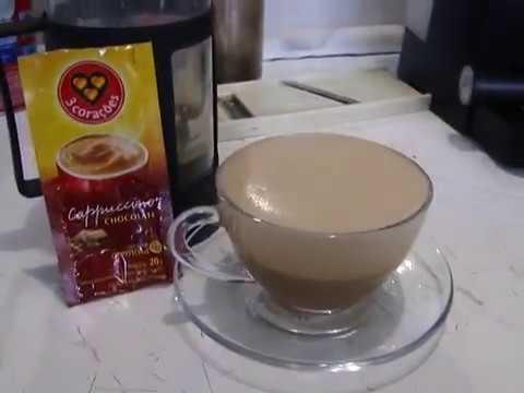 Cappuccino Instantâneo De Chocolate - 3 Corações