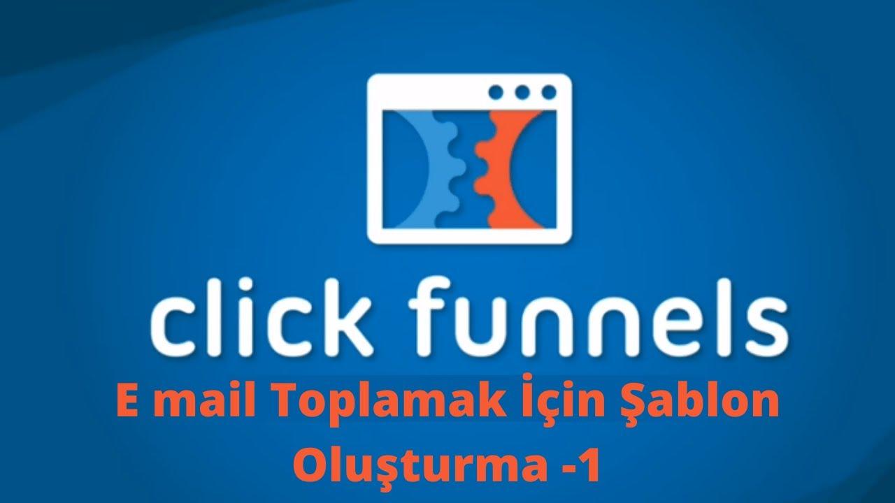 Clickfunnels ile E-mail Toplamak İçin Funnel Kurulumu   Email marketing