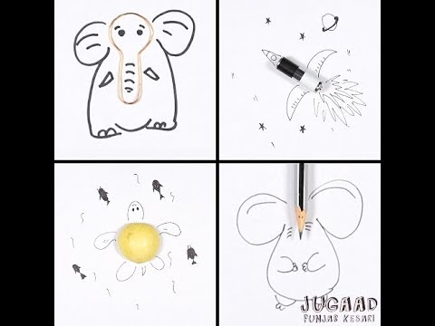 Innovative Drawing Ideas For Kids Youtube