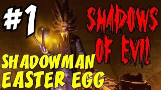 THE SHADOWMAN EASTER EGG Step #1: Unlocking the Apothicon Egg ★ BLACK OPS 3 ZOMBIES: Shadows of Evil