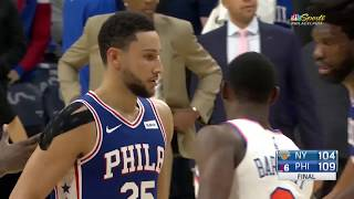 Philadelpiha 76ers vs New York Knicks | November 20 2019