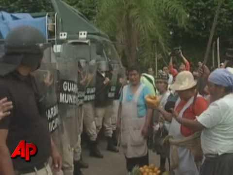 Food Fight! Bolivia Food Merchants Vs Police