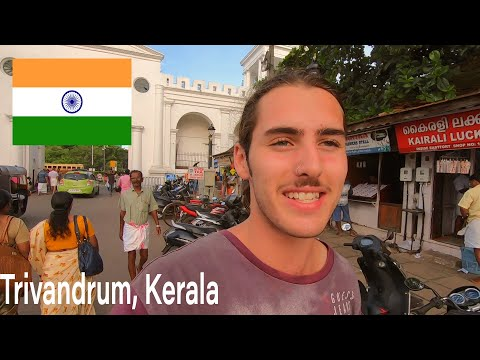 FOREIGNER Arrives in TRIVANDRUM | Kerala, INDIA