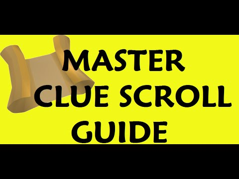 Master CLue scroll Anagram ar if ice