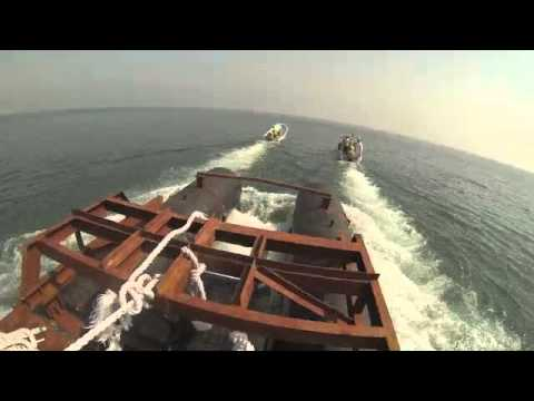 Navigation Aid Installation North West Marine Dubai