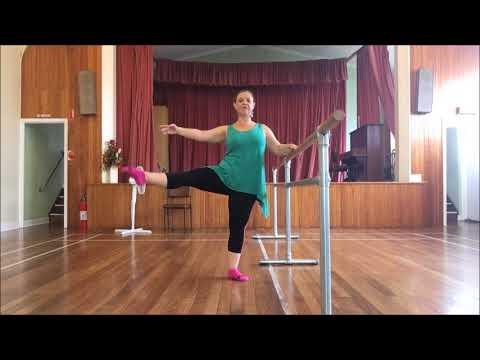 Move Through Life - Intermediate Ballet - Rond de jambe with Jo McDonald