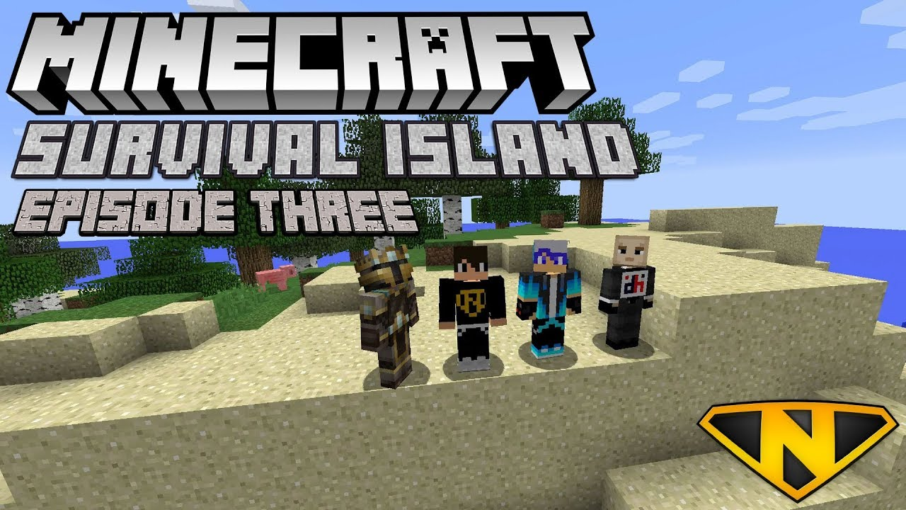 Zombie Island Minecraft Survival Island YouTube - Minecraft hauser pocket edition