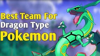 Best team for dragon type pokemon | Hindi Pokevilla Z