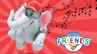 Elphie saves the day - Music video from the City of Friends HD