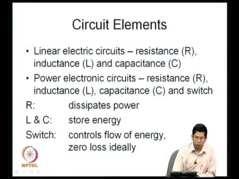 Mod-01 Lec-01 Electronic switches