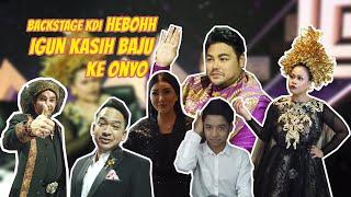 Download lagu HEBOHH SUASANA BACKSTAGE KDI, IVAN GUNAWAN KASIH BAJU KE ONYO