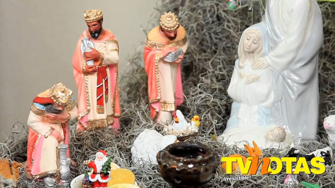 Kala nos ense a como poner el nacimiento en nuestra casa - Como se adorna un arbol de navidad ...