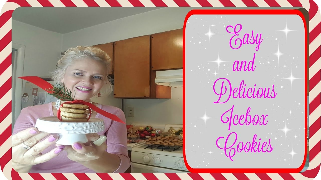 Easy And Delicious Icebox Cookies