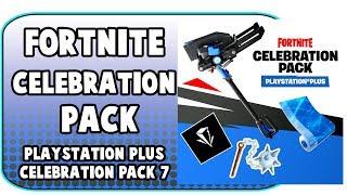 Fortnite Celebration Pack Fortnite Pack For Playsation Plus Members