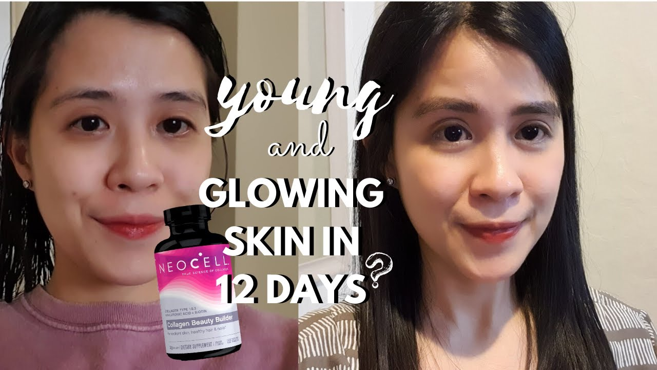 NEOCELL COLLAGEN BEAUTY BUILDER REVIEW 2020  12 DAYS WORTH IT?NAKAKAGLOW    Annee Fair - YouTube