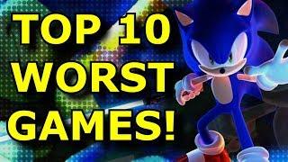 TOP 10 Worst Sonic Games!