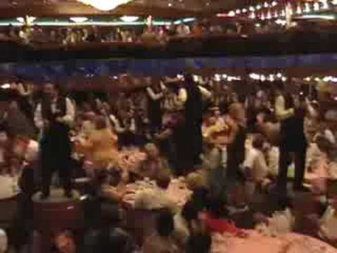 Carnival Cruise Dinner Dance  YouTube