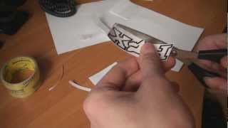 Как сделать наклейку (в домашних условиях)