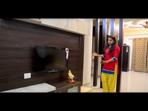 3BHK flat interiors of Mr. Vinod Muthyala and Aparna   Saranya Shantiniketan   whitefield