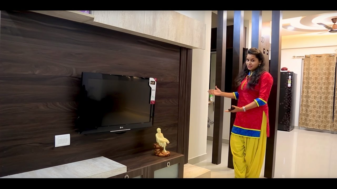 3bhk Flat Interiors Of Mr Vinod Muthyala And Aparna