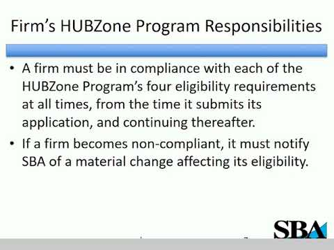 Continued HUBZone Compliance: How to Maintain Your HUBZone ...