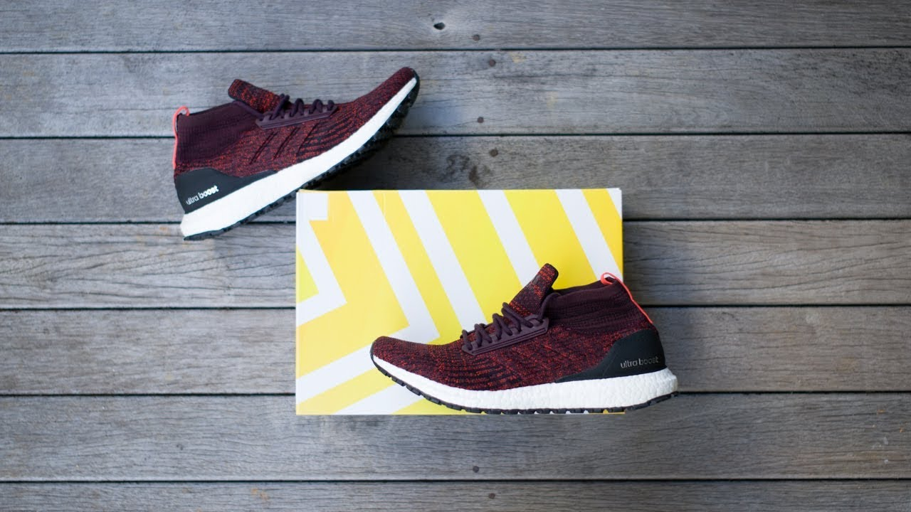 huge discount d803b ca152 Adidas UltraBOOST ATR mid (Burgundy) | unboxing - overview & on-feet!!